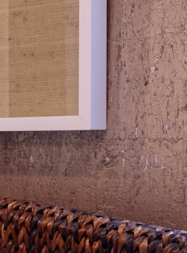 Natural Cork Wallcovering by Thibaut
