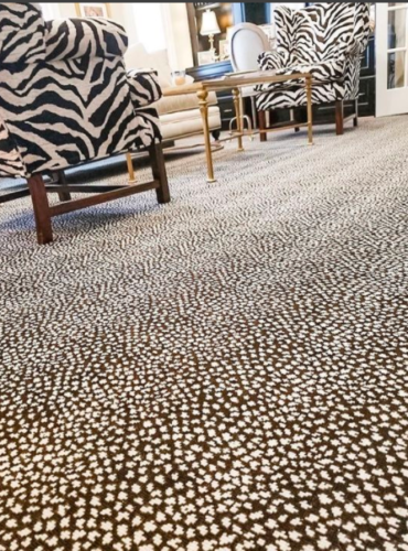 Stanton Carpet with animal print
