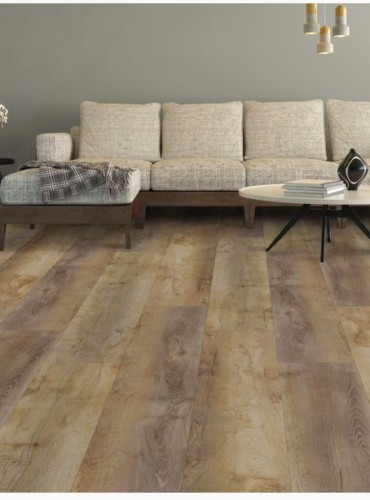 Ultimate Waterproof Authentic High Density Plank Flooring with sound deadening attached pad from Southwind