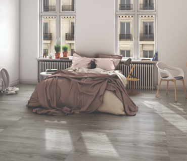 Porcelain Tile with a natural  wood look flooring from Parkay Flooring